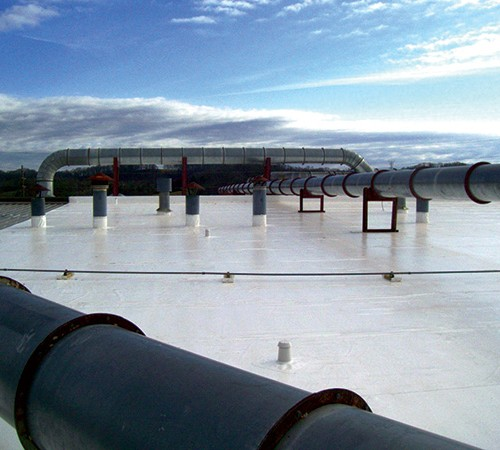 Industrial Fibertite Roofing