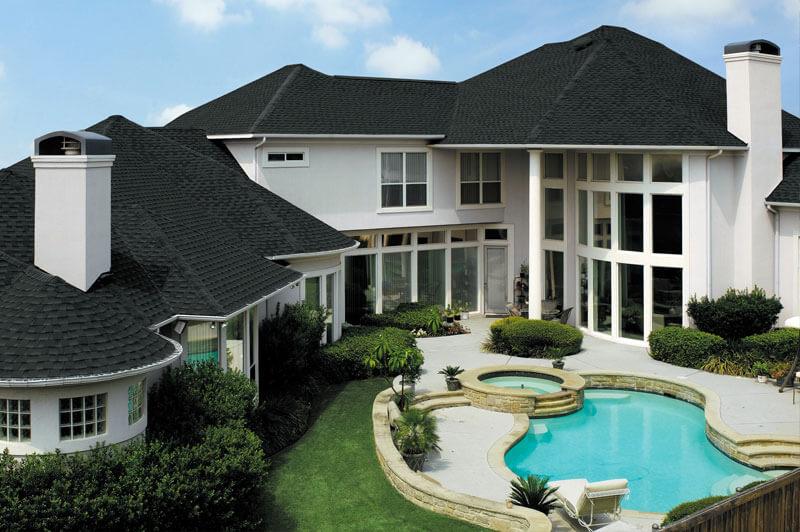 San Diego Roofing Asphalt Laminated Shingles - GAF Timberline HD