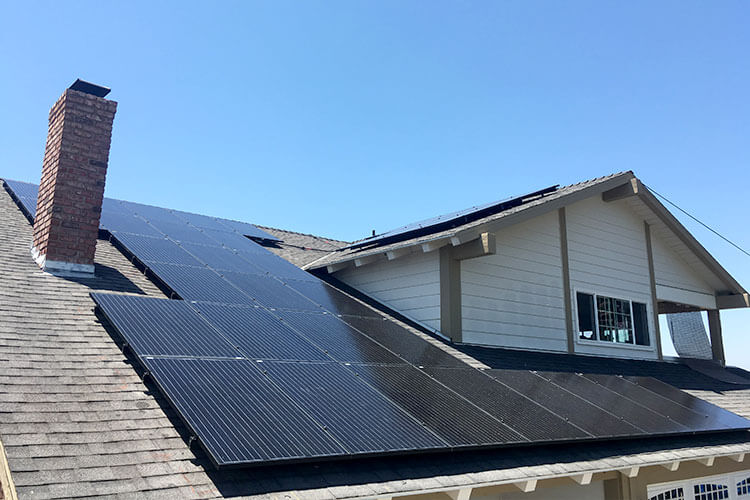 San Diego Solar Power Installation
